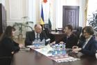 У Полтаві з робочим візитом побував уповноважений спецмісії ОБСЄ в Україні